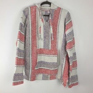 Sweaters - Authentic Mexican Baja Surfer Pullover Poncho